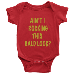 Bald Look Infant Onesie