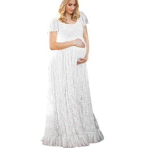 Short Sleeve Maternity & Photoshoot Regular & Plus Sized Dress