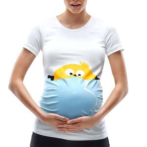 Maternity Short Sleeve Chick Tee