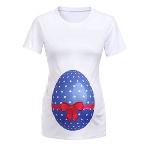 Maternity Egg T-shirt perfect for Easter