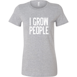 I Grow People Pregnancy Shirt