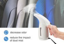 Handheld Clothes Steamer with Travel Pouch, Dual Voltage Travel Garment Steamer