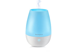 Mini Essential Oil Diffuser, Premium Design, 200ml, 9 Hours