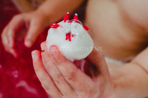 Poké Ball Bath Bomb with Toybath bombEssential bath time