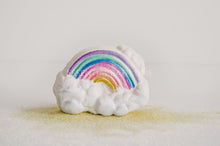 Rainbow dustbath bombEssential bath time