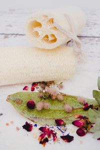 Natural loofah - Essential bath time