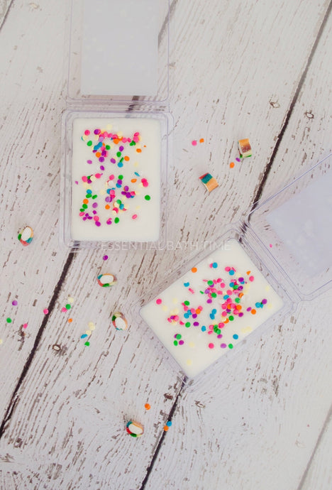 Soy wax melt - Rainbows - Essential bath time