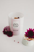 Meditation Crystal Candle - Essential bath time