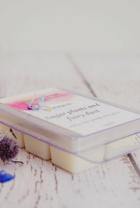 Soy wax melt - Sugar plums and fairy dust - Essential bath time