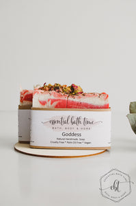 Luxury Essential oil Soap - Goddess - Essential bath time