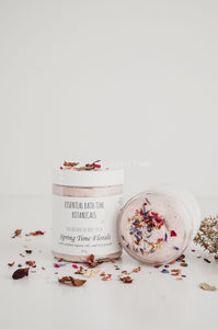 Spring time florals Botanical Body Scrub. - Essential bath time
