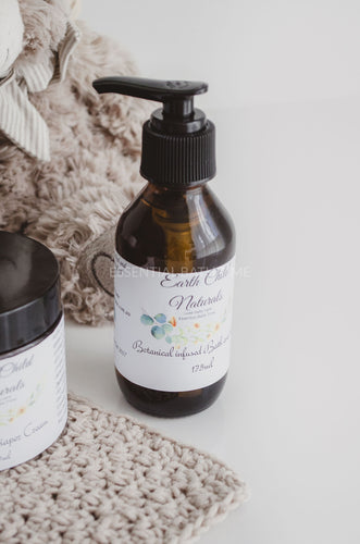 Earth Child Naturals Calendula infused Bath and body oil. - Essential bath time