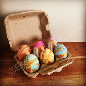 Happy Easter 6-pack of eggs - Essential bath time