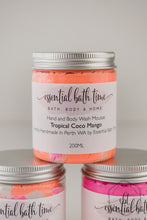 Tropical CoCo Mango Body Wash Mousseshower creamEssential bath time