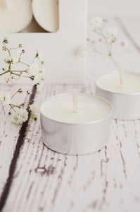 Soy tea light candles - Essential bath time