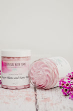 Sugar plums and Fairy Dust Bath and shower whipped Soap Cream. - Essential bath time