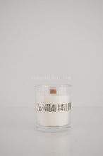 Wood Wick Soy Candle - Lychee and Black Tea - Essential bath time