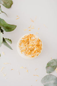 Aromatherapy Bath Bomb - My Happy placeBathbombsEssential bath time