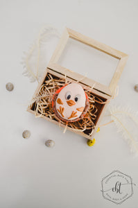 Chick in a nest - Orange - Essential bath time