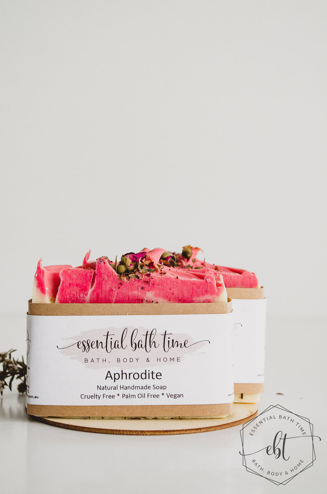 Luxury Essential Oil Soap - Aphrodite - Essential bath time