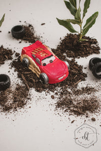 Race Car Bath Bombs - Essential bath time