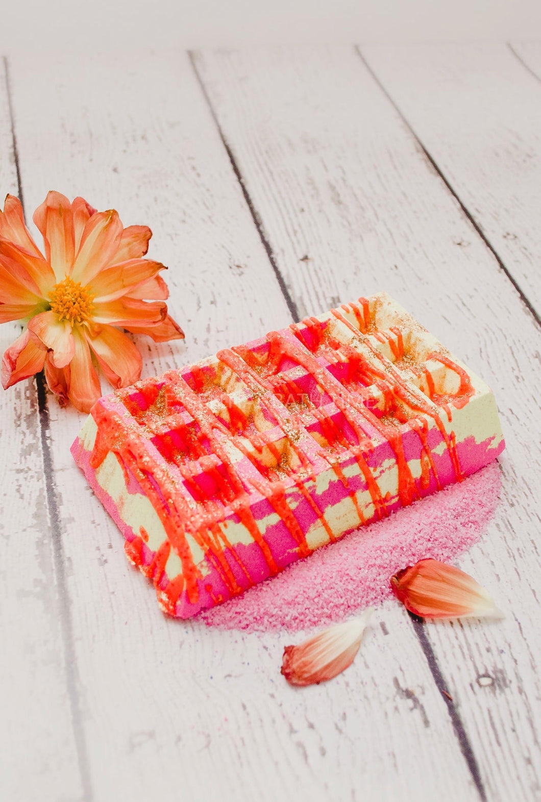 Waffle Bath Bombs - Essential bath time