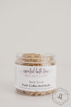 Fresh Coffee and Vanilla Body Scrub - Essential bath time