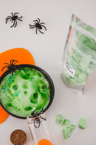 Monster slime Bath crumbleHalloween bath bombEssential bath time