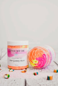 Sour Gummy Bears Whipped Shower Cream. - Essential bath time