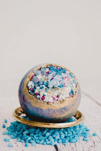 Aurora Geode Bath Bomb - Essential bath time