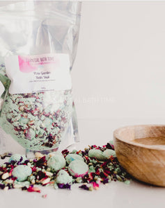 Pixie Garden bath dust - Essential bath time