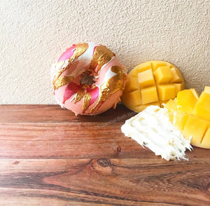 Mango Coconut Cream Doughnut - Essential bath time