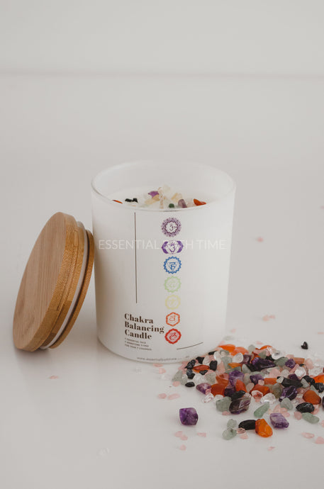 Chakra balancing Candle - Essential bath time
