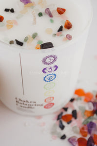 Chakra balancing CandleEssential Oil CandleEssential bath time