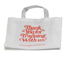 Load image into Gallery viewer, Thank You For Trapping With Us - White Tote Bag