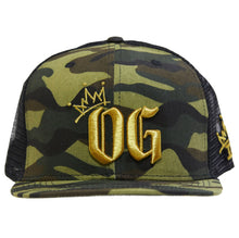 Load image into Gallery viewer, OG Camo Net Cap