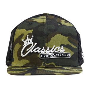 Classics by Royal Family Net Cap Camo