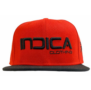 Original Indica Clothing Cap Red