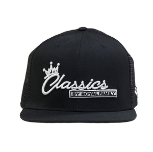 Classics by Royal Family Black Net Cap