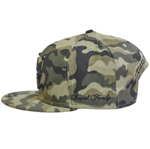 Camo Crown Cap