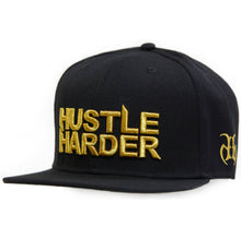 Load image into Gallery viewer, Hustle Harder Cap Gold