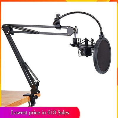 Table Mount Microphone Clamp