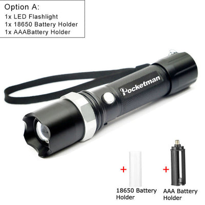 Tactical Rechargeable  Flash Light