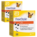 Freestyle LITE Test Strips - 200 Count