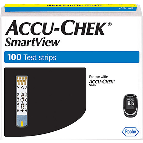 Accu-Chek Smartview Test Strips - 100 Count