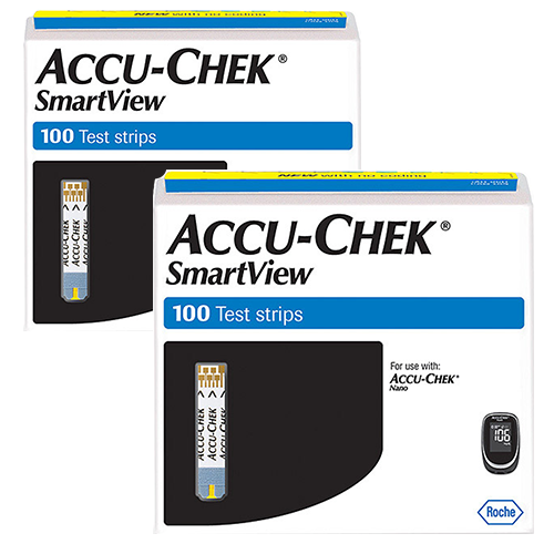 Accu-Chek Smartview Test Strips - 200 Count
