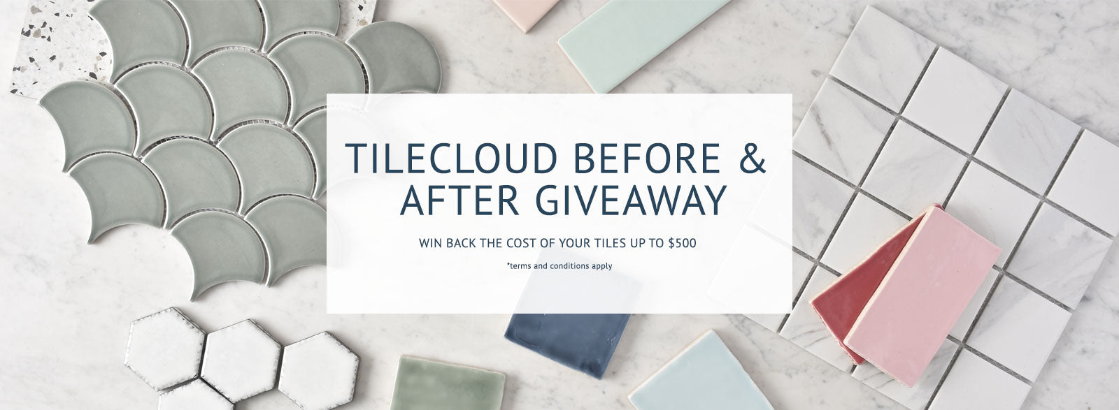 win back the cost of your tiles banner