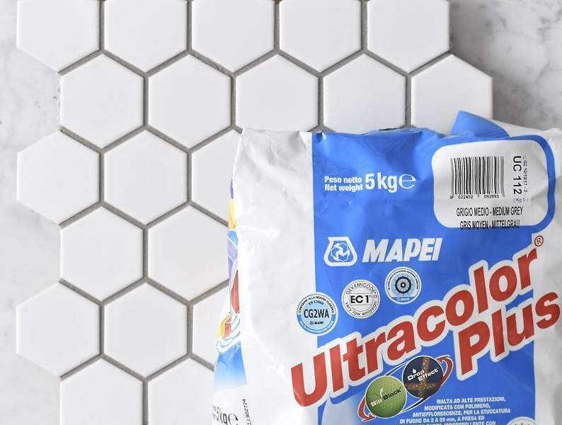Mapei Grout Ultracolor Plus Medium Grey 5kg Bag