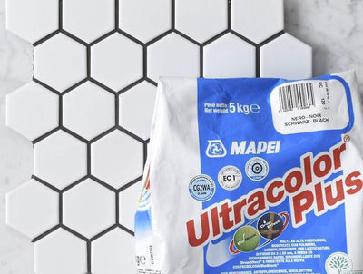 Mapei Grout Ultracolor Plus Black 5kg Bag