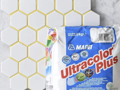 Mapei Grout Ultracolor Plus Yellow 5kg Bag